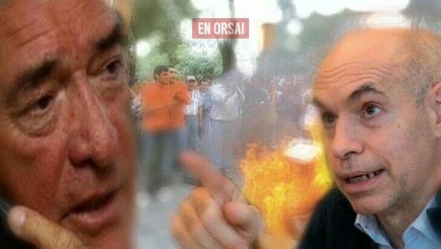 Barrionuevo y Larreta ya comenzaron a operar juntos y atacan a trabajadores