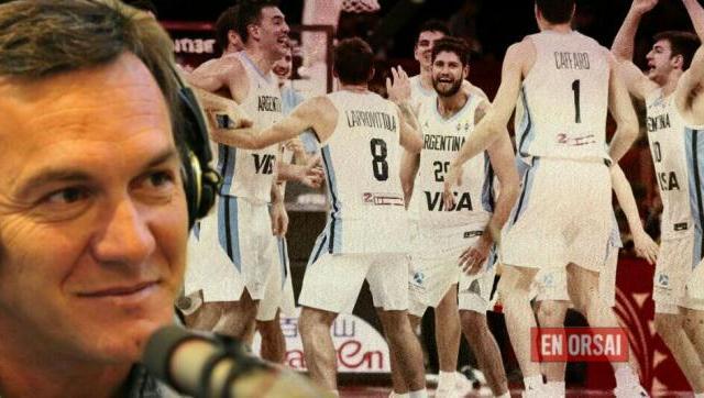 Marcelo Milanesio habló sobre el Mundial de Basket y el equipo Argentino