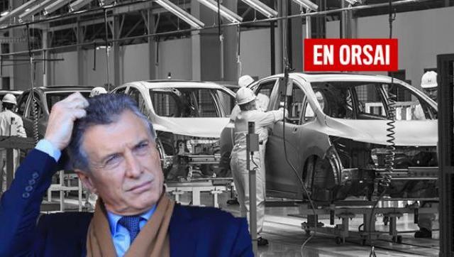 Macri y su tierra arrasada: ya son 19 los meses en los que industria cae