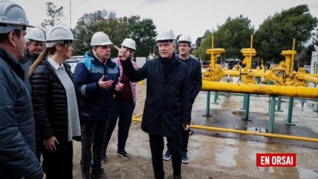 Paralizaron el Gasoducto de la Costa después de la visita de Macri y Vidal 20 días atrás