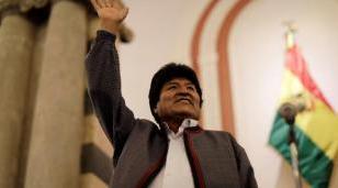 """Evo Morales denunció un """"proceso de golpe de estado"""" y llamó a defender la democracia"""