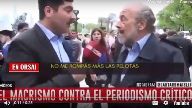 Cambiemos es esto: Eduardo Amadeo amenazó con violencia física a un periodista de C5N