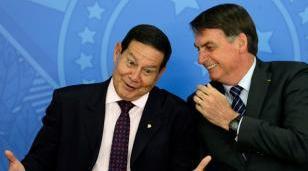 Bolsonaro le prohíbe a su vice participar de la asunción de Alberto Fernández