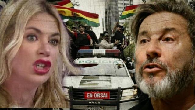 Esmeralda Mitre y Montaner Festejaron el golpe de estado en Bolivia