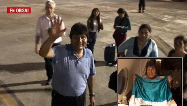 Las increíbles vueltas que tuvo que dar el avión que llevaba a Evo a México