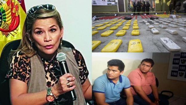 Jeanine Áñez y sus vínculos con el narcotráfico