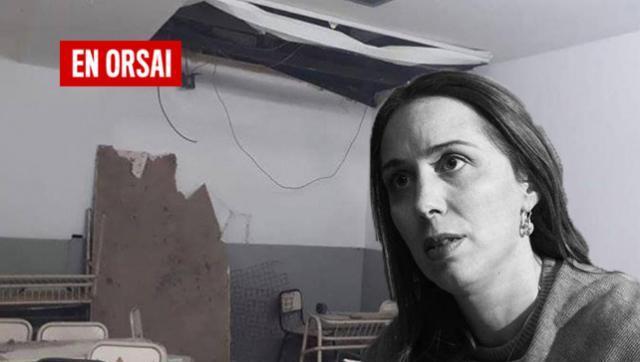 """Así deja la provincia Vidal: en San Martín hablan de """"aulas escombro"""""""