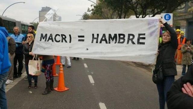 Organismo internacional afirmó que el hambre creció en la argentina de Macri