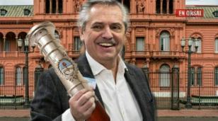 La frase que pidió Alberto Fernández para el bastón presidencial