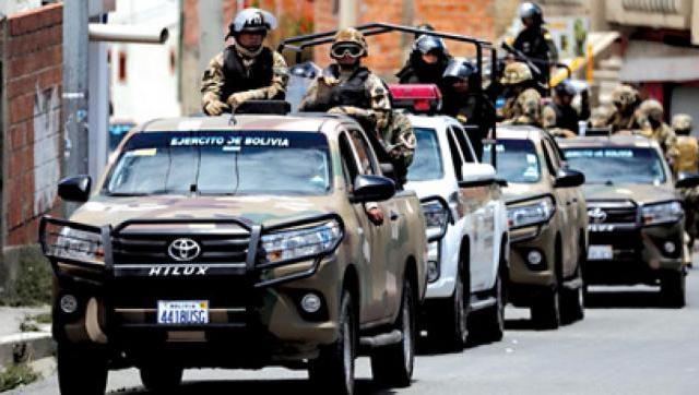En la madrugada de ayer militares bolivianos incursionaron en el paraje El Sauzal, en la frontera con Salvador Mazza.