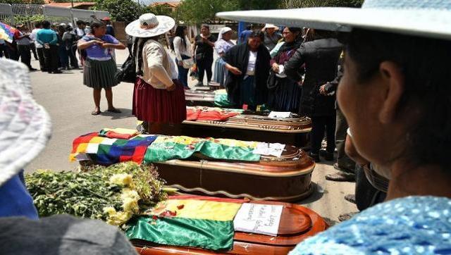 La CIDH acusó a Añez por la represión en Bolivia y exigió