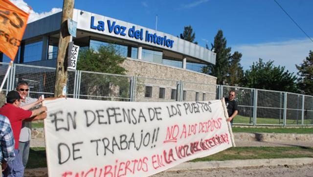 Conflicto en Grupo Clarín: Paro y movilización en La Voz del Interior y Vía Córdoba
