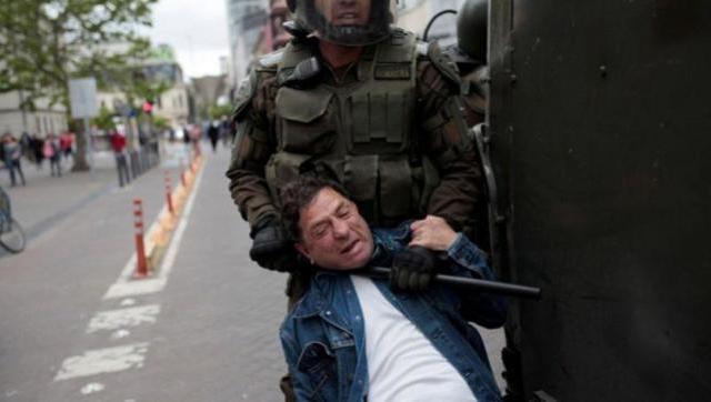 Ante las contundentes denuncias el Gobierno de Piñera reconoció violaciones de DD.HH.