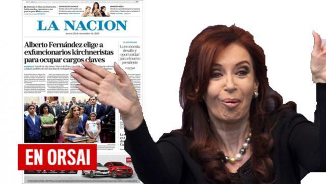 Operativo demolición en marcha: La Nación ya erosiona a un Gobierno que no asumió