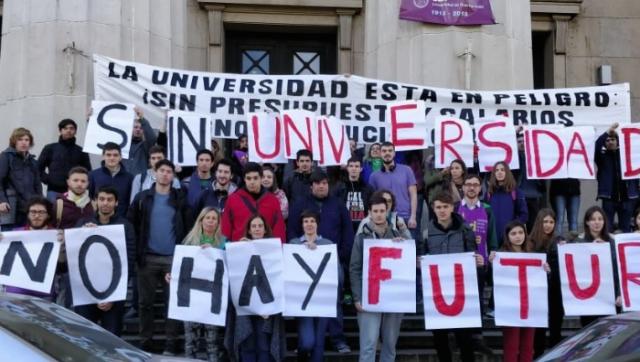 Ocho universidades se juntaron para mostrar los números de la Educación durante el macrismo