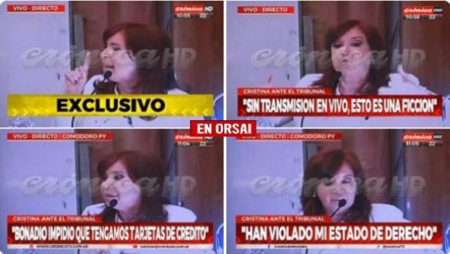 La defensa de Cristina que no querían que escuchemos completo y sin cortes