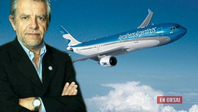 """""""Hay que querer que Aerolíneas Argentinas sea nuevamente una línea que nos enorgullezca"""""""