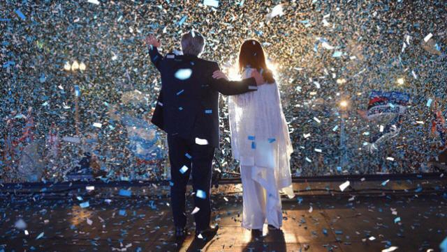 Ante una marea de pueblo: enorme discurso de Alberto Fernández y Cristina Kirchner