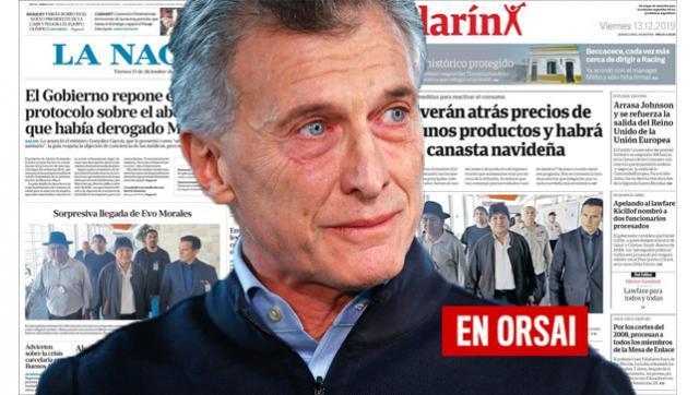 No es joda: ahora La nación y Clarín cuestionan a Macri