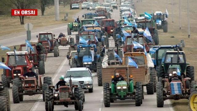 Paren los tractores: ni