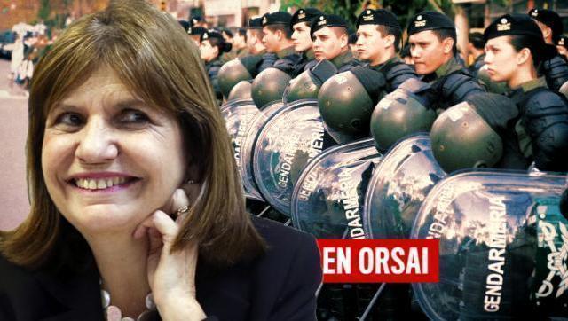 """Patricia Bullrich amenazó con tirar """"toneladas de piedras"""" al oficialismo"""