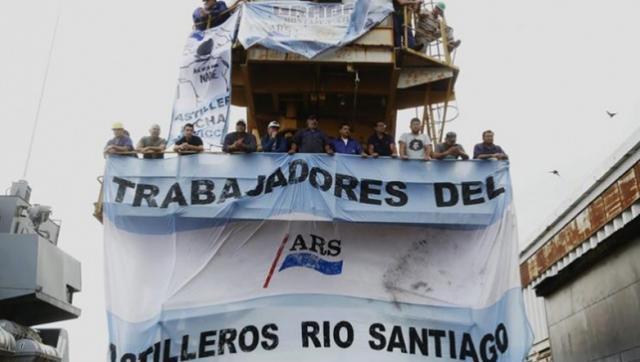 Axel Kicillof reactiva el Astillero Rio Santiago y nombra al nuevo titular