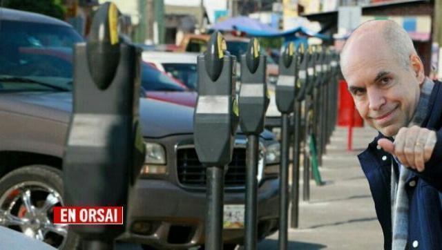 Larreta autorizó fuertes aumentos en taxis, parquímetros y (VTV)