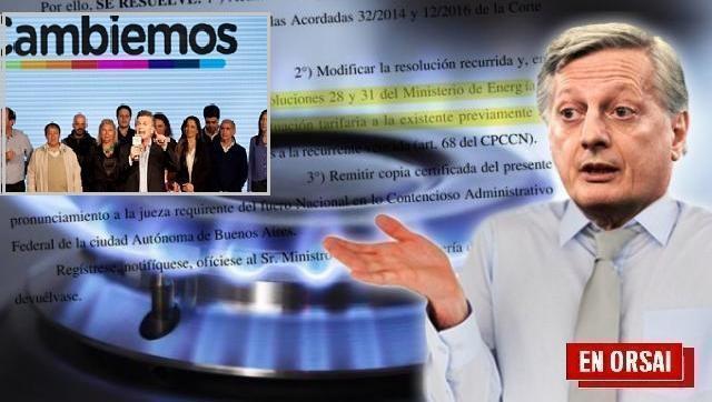 Con Alberto se pagó 1,8 dólares por el mismo gas por el que Macri pagaba 4,89