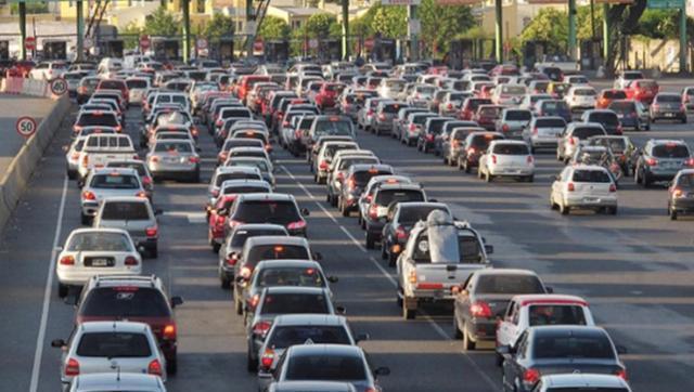 El fin de semana se registraron unos 2500 coches por hora hacia la Costa Atlántica
