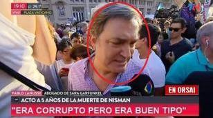 Quién es Pablo Lanusse, el exfiscal que se vio en la marcha por Nisman