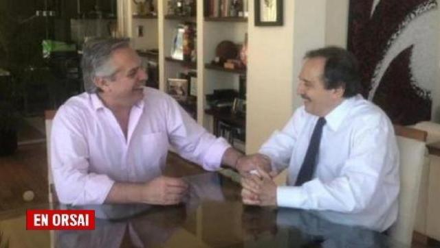 Fuerte gesto de Alberto para cerrar la grieta, Ricardo Alfonsín será embajador