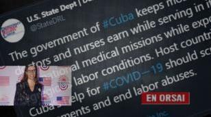 Estados Unidos quiere bloquear la ayuda de Cuba con trolls macristas
