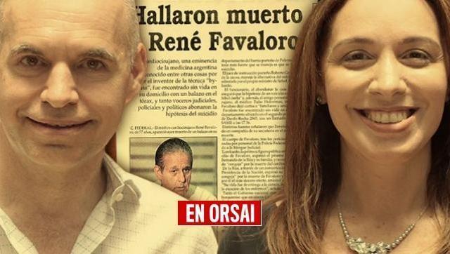 Lo que faltaba: Larreta lleva a CABA a María Eugenia Vidal