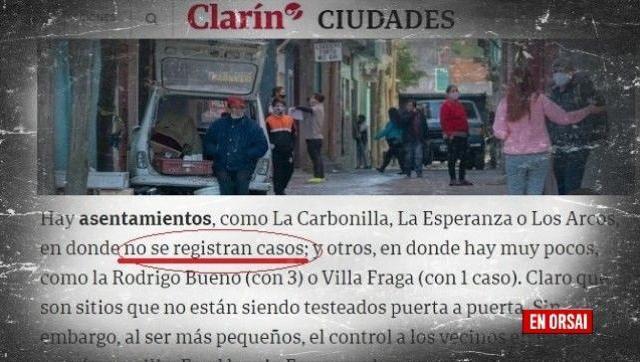 Corona virus en CABA: una vez más Clarín y sus medios satélites salieron a proteger a Larreta
