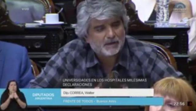 Walter Correa presentó proyecto para que el teletrabajo sea incorporado a la Ley de Contrato de Trabajo