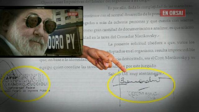 Un documento de Bonadio compromete a Carrió y a la investigación del caso