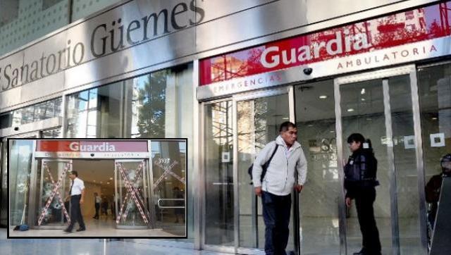 Alarma: 36 empleados del sanatorio Güemes positivos de coronavirus