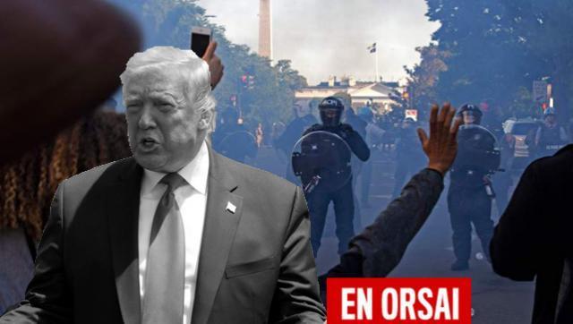 """Trump pide más represión: """"A la Policía de Nueva York no se le permite hacer su magia"""""""