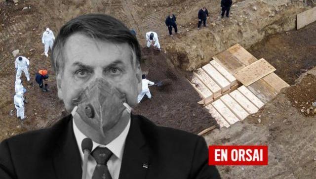 Bolsonaro ocultó los números de contagios por Covid-19 y la OMS le reclamó transparencia