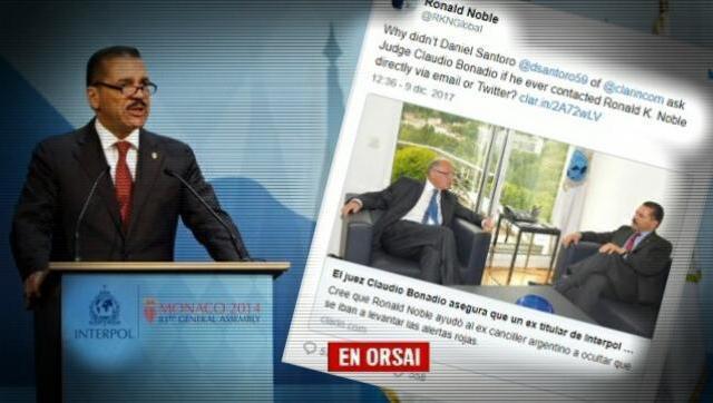Interpol desmintió con un informe todas las operaciones contra CFK y Timerman