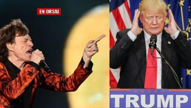 The Rolling Stones amenaza con demandar a Trump