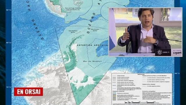 ¿Por qué la alusión de Kicillof sobre la Antártida es veraz?
