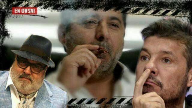 Detrás de los audios que pasó Lanata, habría un apriete mafioso de Angelici a Tinelli