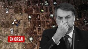 En el Brasil de Bolsonaro hay más de 2 millones de contagios por coronavirus