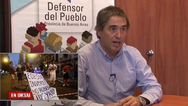La Defensoría del Pueblo bonaerense pidió que le quiten la concesión a Edesur