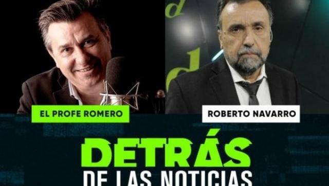 Volvió Detrás de las Noticias con una entrevista a Navarro que no tuvo desperdicio