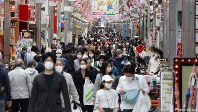 Japón golpeada por el corona virus y ya hay hospitales desbordados