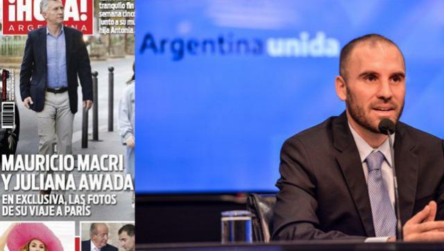 Guzmán detalló el acuerdo por la deuda mientras Macri descansa en Europa