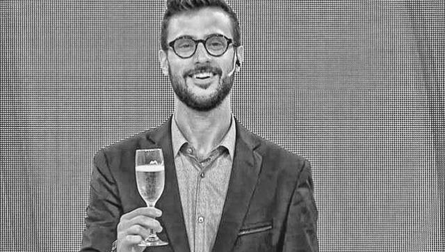 Diego Leuco festejó cuando se anunciaban record de contagios de coronavirus