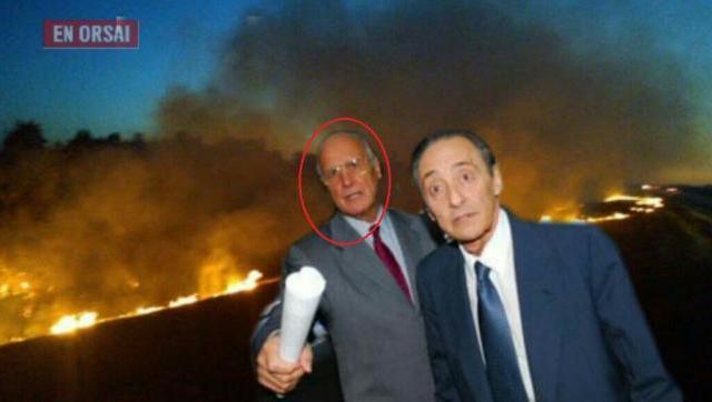 Importante accionista del Grupo Clarín, denunciado como dueño de campos con quemas en las islas